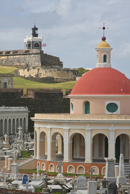 Castillo San Felipe del Morro,El Morro Lighthouse, Santa Maria Magdalena, Old San Juan, Puerto Rico