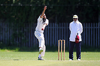 U Mahmood of Barking during Newham CC vs Barking CC, Essex County League Cricket at Flanders Playing Fields on 10th June 2017