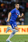 Chelsea Forward Alvaro Morata in action during the International Champions Cup match between Chelsea FC and FC Bayern Munich at National Stadium on July 25, 2017 in Singapore. Photo by Marcio Rodrigo Machado / Power Sport Images