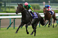 TAKARAZUKA,JAPAN-JUNE 25: Satono Crown #11,ridden by Mirco Demuro,wins the Takarazuka Kinen at Hanshin Racecourse on June 25,2017 in Takarazuka,Hyogo,Japan (Photo by Kaz Ishida/Eclipse Sportswire/Getty Images)