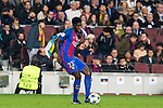 FC Barcelona's Samuel Umiti during Champions League match between Futbol Club Barcelona and VfL Borussia Mönchengladbach  at Camp Nou Stadium in Barcelona , Spain. December 06, 2016. (ALTERPHOTOS/Rodrigo Jimenez)