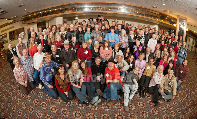 Group photo of the participants at Shooting the West XXIV, WInnemucca, Nevada