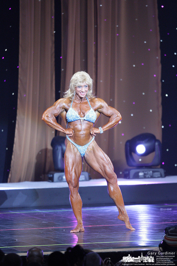 Ms International  from rear of Veterans Memorial at 2008 Arnold Sports Festival. Photo Copyright Chris Putman.