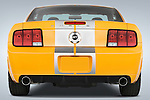 Straight rear view of 2008 Ford Shelby Coupe Stock Photo