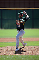 Kevin Johnson - Oakland Athletics 2016 spring training (Bill Mitchell)