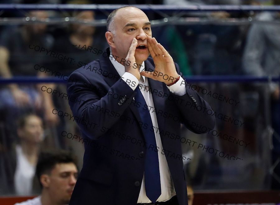 Kosarka Euroleague season 2016-2017<br /> Euroleague <br /> Crvena Zvezda v Real Madrid<br /> Head coach Pablo Laso<br /> Beograd, 22.12.2016.<br /> foto: Srdjan Stevanovic/Starsportphoto &copy;