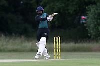 M Chowdhury hits 4 runs for Harold Wood during Gidea Park and Romford CC vs Harold Wood CC, Shepherd Neame Essex League Cricket at Gidea Park Sports Ground on 6th July 2019