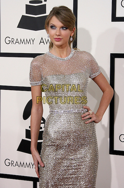 LOS ANGELES, CA - JANUARY 26 - Taylor Swift. 56th GRAMMY Awards held at the Staples Center. <br /> CAP/ADM<br /> &copy;AdMedia/Capital Pictures