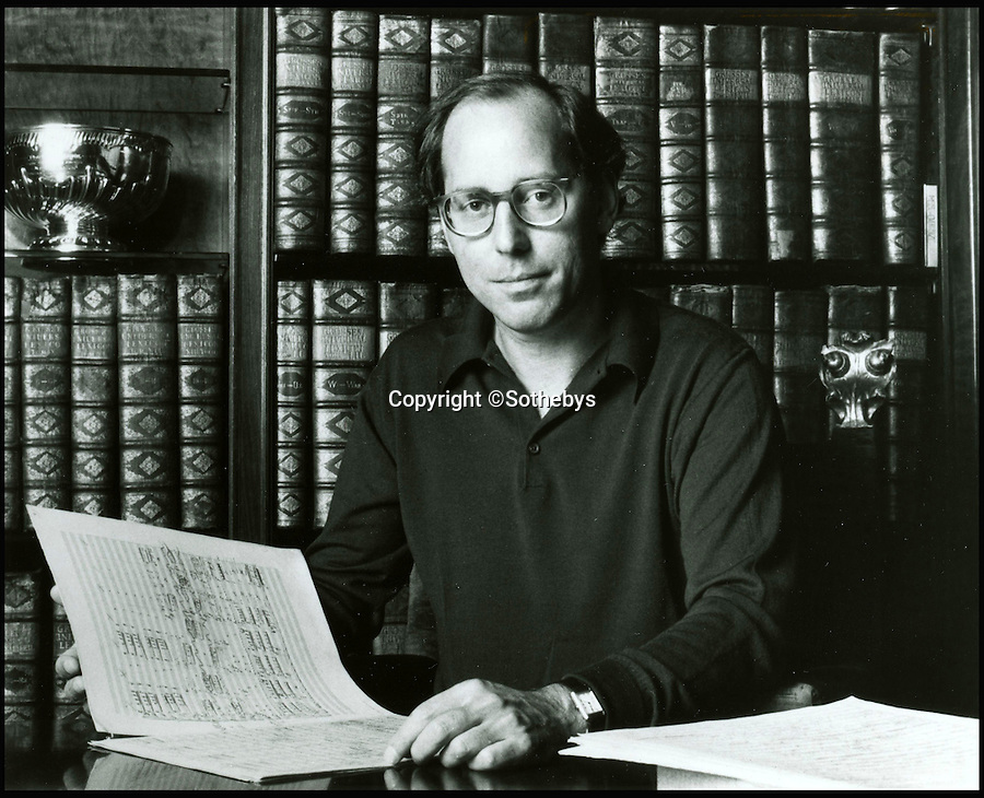 BNPS.co.uk (01202 558833)<br /> Pic: Sothebys/BNPS<br /> <br /> Wall Street Millionaire Gilbert Kaplan bought the precious manuscript in the 1980's and then went on to conduct his own performances of the piece with the top Orchestra'a around the world.<br /> <br /> A unique, handwritten musical score composed by classical giant Gustav Mahler has been given a record £3.5 million price tag. <br /> <br /> The 232 pages comprising the Austrian maestro's iconic Symphony No. 2, known as Resurrection, will become the most expensive musical manuscript ever if its estimate is met. <br /> <br /> Written between 1888 and 1894 and containing Mahler's alterations and corrections in the margins, the historic late-romantic piece has emerged after its owner Gilbert Kaplan, a Wall Street millionaire, died aged 74 in January this year. <br /> <br /> It is being auctioned on behalf of Kaplan's estate at Sotheby's, London, on November 29.