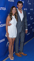 SANTA MONICA, CA, USA - MAY 16: Chloe Bennet, Austin Nichols at the Nautica And LA Confidential's Oceana Beach House Party held at the Marion Davies Guest House on May 16, 2014 in Santa Monica, California, United States. (Photo by Xavier Collin/Celebrity Monitor)