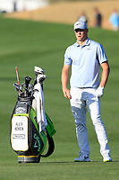 Alex Noren (SWE) during the 1st round of the Waste Management Phoenix Open, TPC Scottsdale, Scottsdale, Arisona, USA. 31/01/2019.<br /> Picture Fran Caffrey / Golffile.ie<br /> <br /> All photo usage must carry mandatory copyright credit (© Golffile | Fran Caffrey)