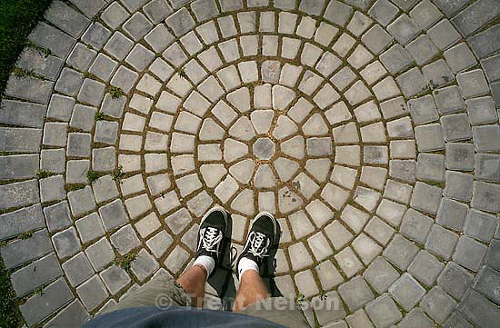 Trent feet and circular brick<br />