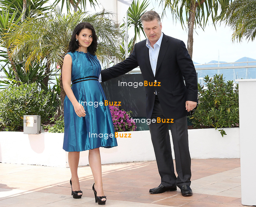 CPE/Actor Alec Baldwin, Hilaria Baldwin and director James Toback attend the 'Seduced And Abandoned' Photocall during The 66th Annual Cannes Film Festival at the Palais des Festivals on May 21, 2013 in Cannes, France.