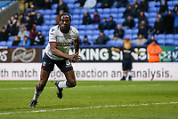 Bolton Wanderers' Clayton Donaldson celebrates scoring his side's first goal  <br /> <br /> Photographer Andrew Kearns/CameraSport<br /> <br /> The EFL Sky Bet Championship - Bolton Wanderers v Preston North End - Saturday 9th February 2019 - University of Bolton Stadium - Bolton<br /> <br /> World Copyright &copy; 2019 CameraSport. All rights reserved. 43 Linden Ave. Countesthorpe. Leicester. England. LE8 5PG - Tel: +44 (0) 116 277 4147 - admin@camerasport.com - www.camerasport.com