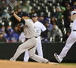 Hiroki Kuroda (Yankees),.MAY 7, 2013 - MLB :.Pitcher Hiroki Kuroda of the New York Yankees during the baseball game against the Colorado Rockies at Coors Field in Denver, Colorado, United States. (Photo by AFLO)