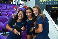 Orlando, FL - Saturday October 14, 2017:  Fans  during the NWSL Championship match between the North Carolina Courage and the Portland Thorns FC at Orlando City Stadium.