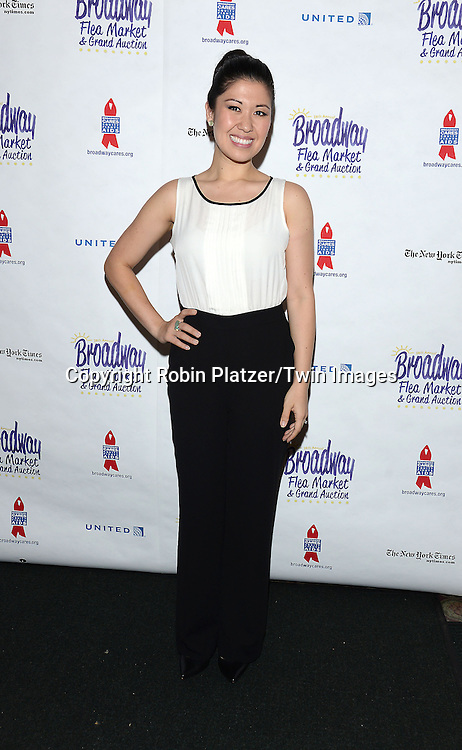Ruthie Ann Miles attends the 28th Annual  Broadway Cares/ Equity Fights Aids Flea Market and Auction on September 21,2014 in Shubert Alley in New York City. <br /> <br /> photo by Robin Platzer/Twin Images<br />  <br /> phone number 212-935-0770