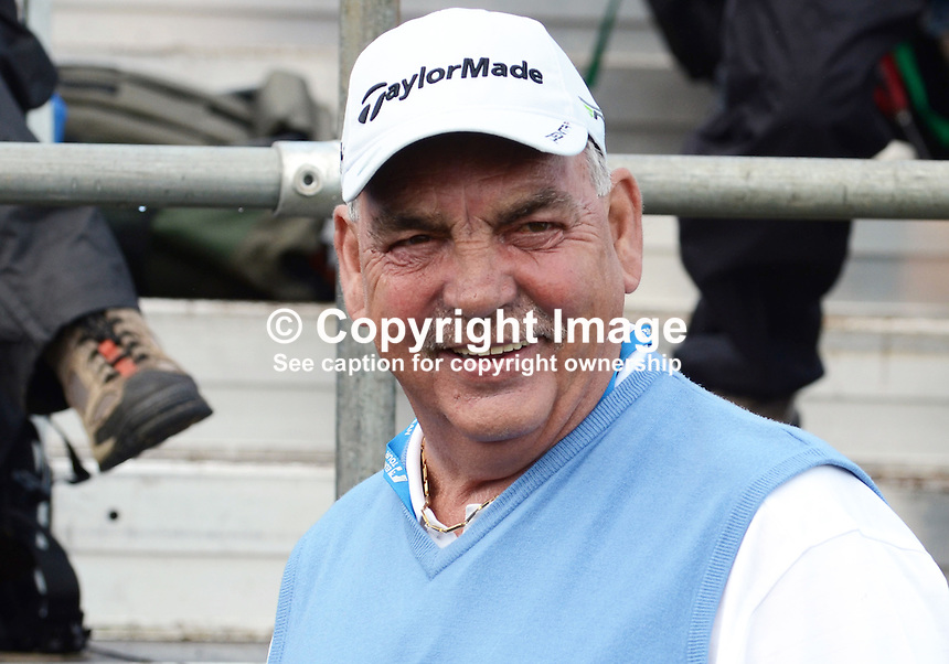Godfrey Clarke, father of Darren Clarke, professional golfer, N Ireland, 2012060314.<br />
