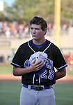McQueen grad Kody Reynolds won a high school home run competition to earn a spot in the Triple-A All Star Home Run Derby in Reno, Nev., on Monday, July 15, 2013. Reynolds advanced to the second round, hitting a total of five homers in the event. <br /> Photo by Cathleen Allison
