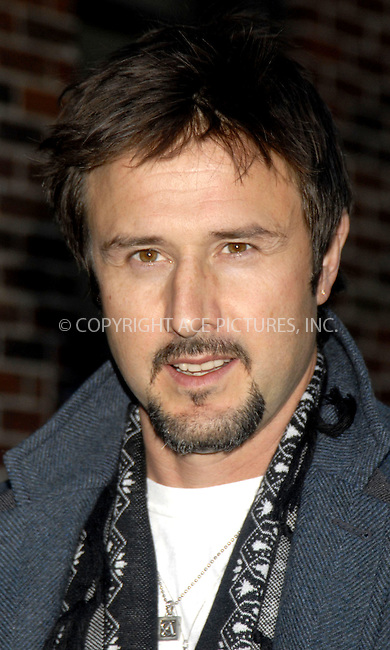 WWW.ACEPIXS.COM . . . . . .....December 8, 2007, New York City....David Arquette arrives at the 'Late Show with David Letterman' at the Ed Sullivan Theater.....Please byline: KRISTIN CALLAHAN - ACEPIXS.COM.. . . . . . ..Ace Pictures, Inc:  ..(212) 243-8787 or (646) 679 0430..e-mail: picturedesk@acepixs.com..web: http://www.acepixs.com