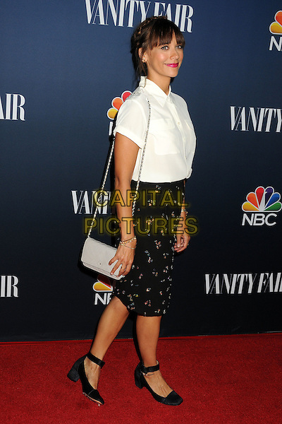 16 September 2014 - West Hollywood, California - Rashida Jones. NBC and Vanity Fair 2014-2015 TV Season Event held at Hyde Sunset Kitchen.  <br /> CAP/ADM/BP<br /> &copy;Byron Purvis/AdMedia/Capital Pictures