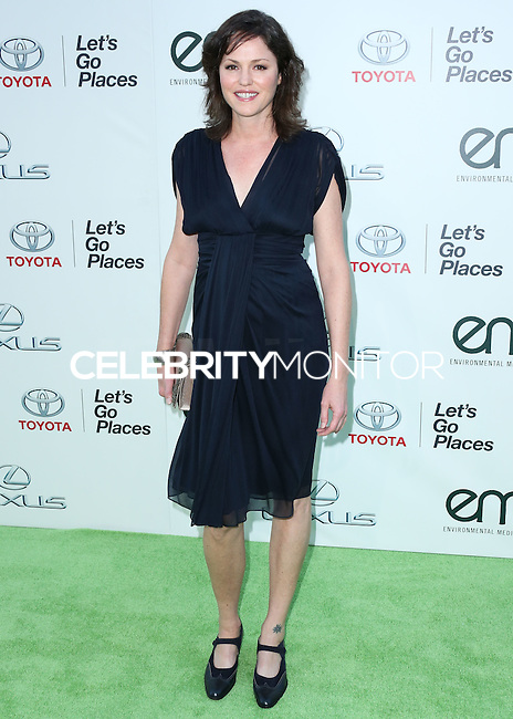BURBANK, CA, USA - OCTOBER 18: Jorja Fox arrives at the 2014 Environmental Media Awards held at Warner Bros. Studios on October 18, 2014 in Burbank, California, United States. (Photo by Xavier Collin/Celebrity Monitor)