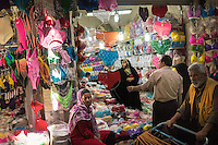 June 12, 2014 - Tehran, Iran. A woman shops at the Grand Bazaar of Tehran. © Thomas Cristofoletti / Ruom