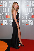 Ellie Goulding<br /> arrives for the BRIT Awards 2017 held at the O2 Arena, Greenwich, London.<br /> <br /> <br /> &copy;Ash Knotek  D3233  22/02/2017