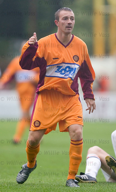 Shaun Fagan, Motherwell.stock season 2004-2005.pic willie vass