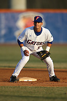 March 9, 2010:  Second Baseman Jandy Rosabal (5) of the Florida Gators during a game at McKethan Stadium in Gainesville, FL.  Photo By Mike Janes/Four Seam Images