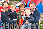 Pictured at Mighty Mikeys birthday party at Lee Strand on Saturday, from left: Joanne McKenna, Bryan McKenna, Marie McKenna, Darragh McKenna and Keith McKenna..