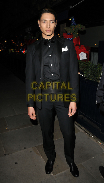 Natt Weller attends the LOVE magazine Christmas party, George Club, Mount Street, London, UK, on Friday 18 December 2015.<br /> CAP/CAN<br /> &copy;Can Nguyen/Capital Pictures