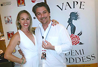 Christy Oldham, Jeremy Miller<br /> at the 'DemiGoddess Vape' Celebrity Lounge hosted by PhotoMundo Publishing, Westin Los Angeles Airport Hotel, Los Angeles, CA 07-09-16