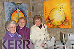 Enjoying the Art Exhibition in St. John's theatre Listowel on Saturday night were Ena Bunyan, Mary Keogh and Maureen Sheehy from Listowel.   Copyright Kerry's Eye 2008