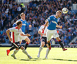 Andy Murdoch battling to keep the ball in play