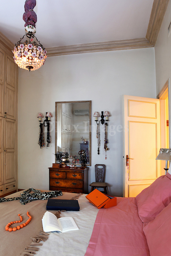 The owner's house is  a 300sq.m apartment located  in the historic city center of Athens near the National Park and the Presidential Palace.