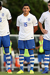 28 August 2016: Saint Louis's Jair Hernandez. The University of North Carolina Tar Heels hosted the Saint Louis University Billikens at Fetter Field in Chapel Hill, North Carolina in a 2016 NCAA Division I Men's Soccer match. UNC won the game 3-0.