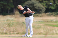 Gregory Royston (Cotswald Downs) on the 12th tee during Round 2 - Strokeplay of the North of Ireland Championship at Royal Portrush Golf Club, Portrush, Co. Antrim on Tuesday 10th July 2018.<br /> Picture:  Thos Caffrey / Golffile