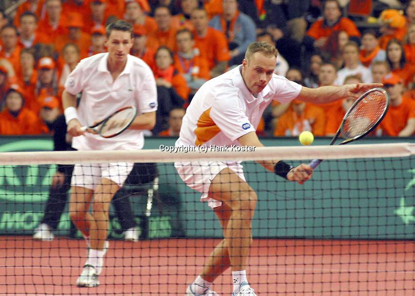 Verkerk volleys backed up bij Haarhuis