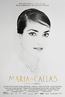 MARIA CALLAS: IN HER OWN WORDS (2017)<br /> poster<br /> *Filmstill - Editorial Use Only*<br /> CAP/FB<br /> Image supplied by Capital Pictures