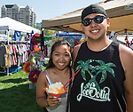Jinney and John from San Jose at the Aloha Festival in Reno on Saturday, August 27, 2016.