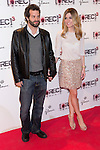 """Madrid premiere of the movie """"Rec 3. Genesis. The Wedding of the year."""" With the presence of the director Paco Plaza, and the actors Leticia Dolera and Diego Martin. In the image Luis rallo and Alexandra Jimenez (Alterphotos/ Marta Gonzalez)"""