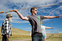 Atlatl Mammoth Hunt at First Peoples State Park