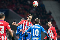 Atletico de Madrid Juanfran Torres and Lleida Esportiu XXX during King's Cup match between Atletico de Madrid and Lleida Esportiu at Wanda Metropolitano in Madrid, Spain. January 09, 2018. (ALTERPHOTOS/Borja B.Hojas) /NortePhoto.com NORTEPHOTOMEXICO