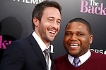 US actors/cast members Alex O'Loughlin and Anthony Anderson arrive at the USA/LA premiere of CBS Films' 'The Back-Up Plan' held at the Regency Village Theatre in Westwood in Los Angeles on April 21, 2010. The movie is a comedy that explores dating, love, marriage and family in reverse.