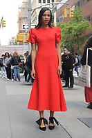NEW YORK, NY - NOVEMBER 7: Zawe Ashton at Build Series in New York City on November 7, 2019.      <br /> CAP/MPI/EN<br /> ©EN/MPI/Capital Pictures