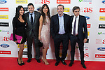 El Chiringuito TV presenters pose during AS Sport Female Awards ceremony in Madrid, Spain. December 15, 2014. (ALTERPHOTOS/Victor Blanco)