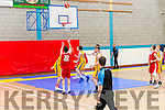 National Basketball Cup: U18 CYMS Basketball Club Killorglin vs Templeogue Basketball  Club at the Killorglin Sport and Leisure Centre last Sunday.
