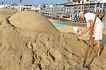 JCP&L Sand Sculpture at the Belmar Sand Castle Contest in Belmar, New Jersey. 7/13/16