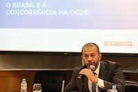 SÃO PAULO, SP, 25.04.2019: POLITICA-SP: Alexandre Cordeiro Macedo, Superintendente-Geral do CADE, participa de evento sobre os novos rumos do direito da concorrência com a adesão do Brasil ao Comitê de Concorrência da Organização para Cooperação e Desenvolvimento Econômico (OCDE), nesta quinta-feira, 25. ( Foto: Charles Sholl/Brazil Photo Press/Folhapress)